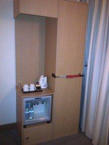 BloxSafe around hotel cupboard